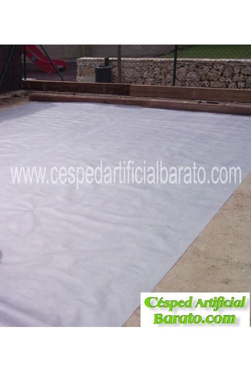 cesped artificial extra resistente nylon color burdeos