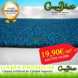 CESPED ARTIFICIAL AZUL 12MM