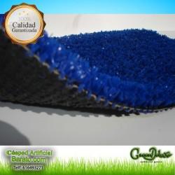 Césped artificial azul 12mm