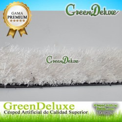 CESPED ARTIFICIAL COLOR BLANCO