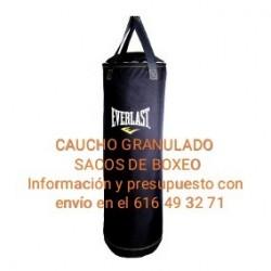 CAUCHO GRANULADO RELLENO DE...