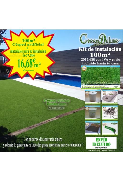 modelo Greendeluxe NIZA PREMIUM cesped artificial muy real y barato en tienda on line y tienda almacén físico