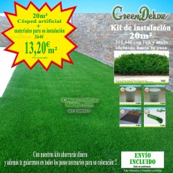 CÉSPED BLANCO GREENDELUXE MULTI 25 FB